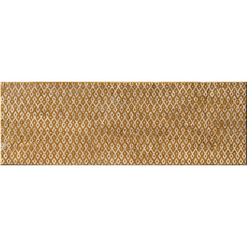 Ocra Ottoman Textile 1 10x30,5 Marble Tiles