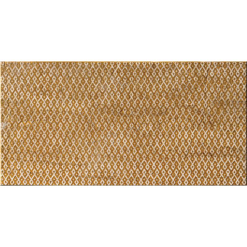 Ocra Ottoman Textile 1 30,5x61 Marble Tiles