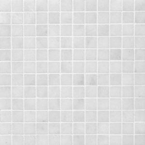 Glacier Honed 2,3x2,3 Marble Mosaics 30,5x30,5