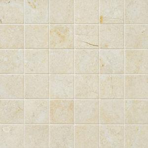Casablanca Honed 5x5 Limestone Mosaics 30,5x30,5