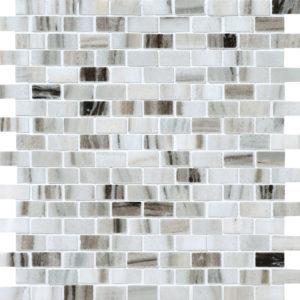 Verona Polished 1,5x3 Marble Mosaics 30,5x30,5