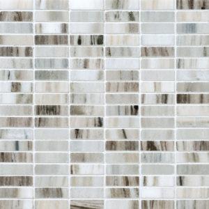 Verona Polished 1,5x5 Marble Mosaics 30,5x30,5