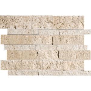 Canyon Split Face Slides Travertine Mosaics 28x43