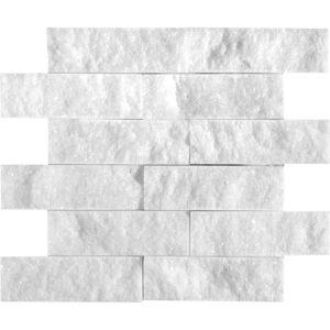 Avalon Rock Face 5x15,2 Marble Mosaics 30,5x30,5