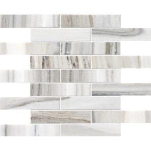 Skyline Polished 3x15,2 Marble Mosaics 30,5x30,5