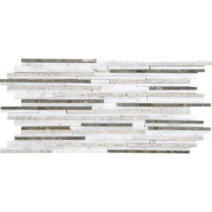 Massa Polished Bamboo Marble Mosaics 15,2x30,5