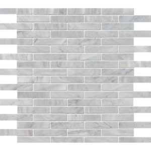 Avenza Honed 1,5x7,6 Marble Mosaics 30,5x30,5