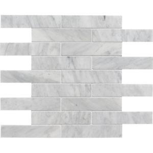 Avenza Honed 3x15,2 Marble Mosaics 30,5x30,5