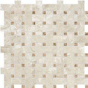 Diana Royal&paradise Honed Basket Weave Marble Mosaics 30,5x30,5
