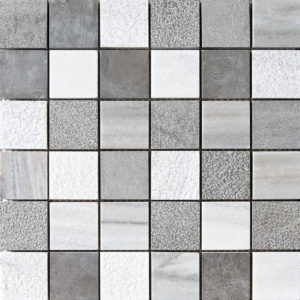 Skyline&bosphorus Textured 5x5 Marble Mosaics 30,5x30,5