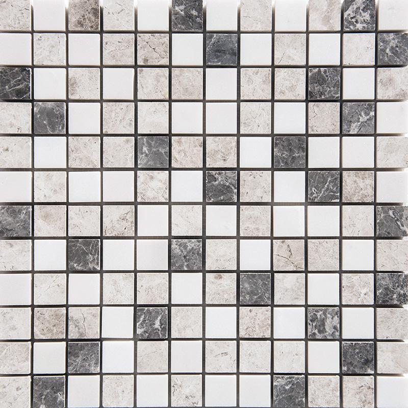 Granada Blend Polished 30,5x30,5 1x1 Marble Mosaics