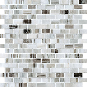 Verona Blend Honed 1,5x3 Marble Mosaics 30,5x30,5