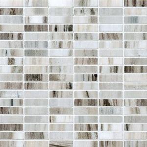 Verona Blend Honed 1,5x5 Marble Mosaics 30,5x30,5