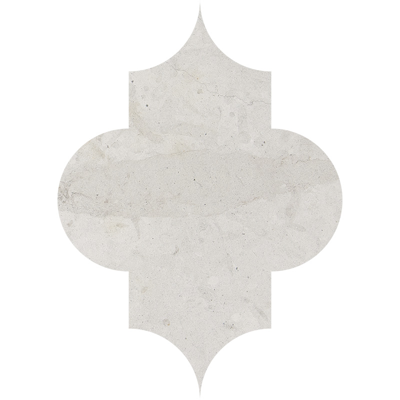 Britannia Honed 20x28 Arabesque Limestone Waterjet Decos