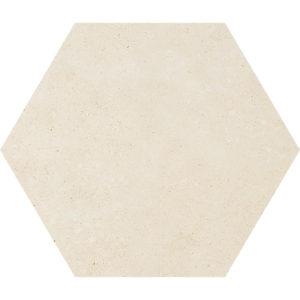 Casablanca Honed Hexagon Limestone Waterjet Decos 14,5x12,5