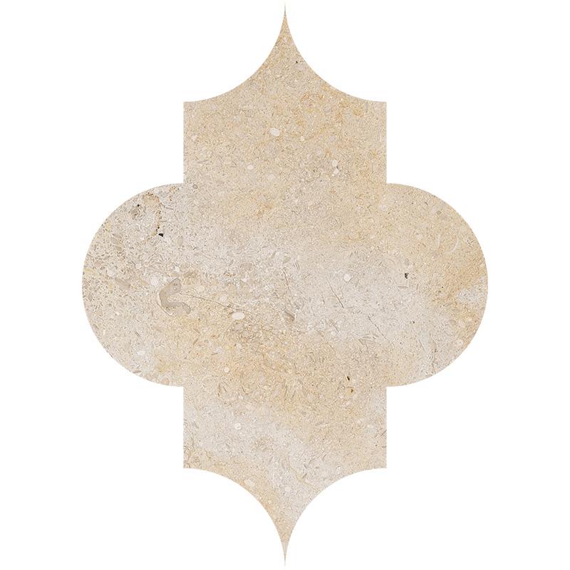 Seashell Honed 20x27,94 Arabesque Limestone Waterjet Decos