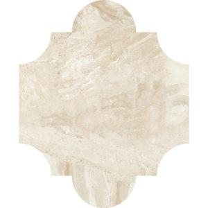 Diana Royal Honed San Felipe Marble Waterjet Decos 20x24,77