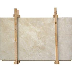 Ivory Honed&filled Travertine Slab 2 Cm, 3 Cm