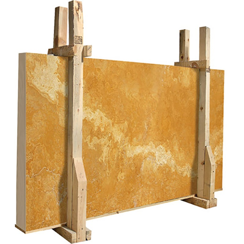 Golden Sienna Honed&filled Travertine Slab 2 Cm, 3 Cm