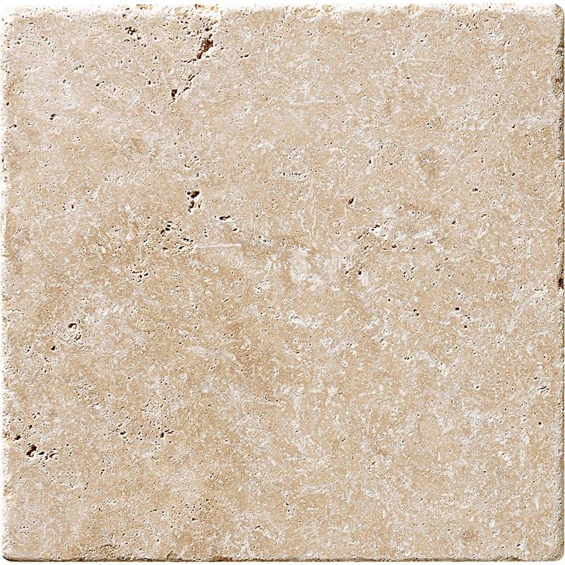 Ivory Tumbled Travertine Tiles 20x20