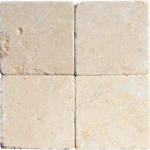 Seashell Tumbled Limestone Tiles 10x10