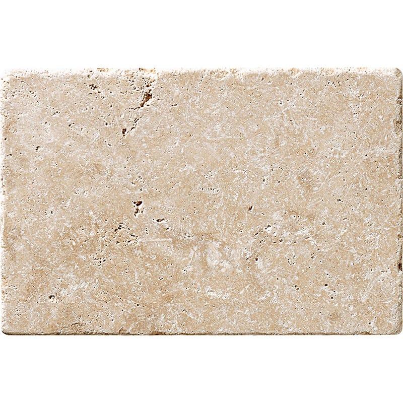 Ivory Tumbled Travertine Tiles 40,6x61