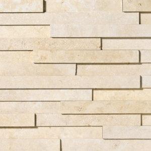 Seashell Honed Limestone Wall Decos Elevations Pattern